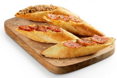 Panes de ajo Supremos (con Queso) e Ingredientes (4u.)