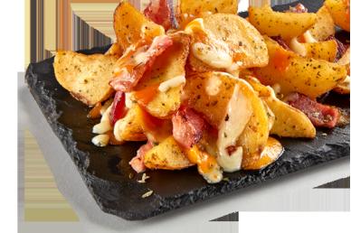 Patatas Cheesy Bacon