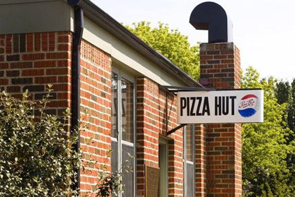 origen de Pizza Hut