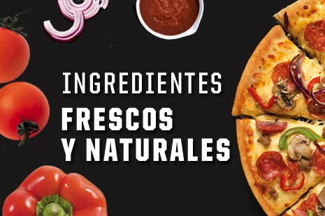 Ingredientes Frescos y Naturales
