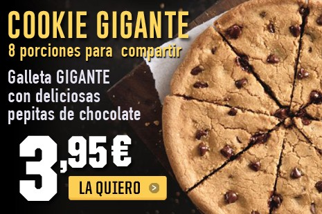 Cookie Gigante x 3,95€