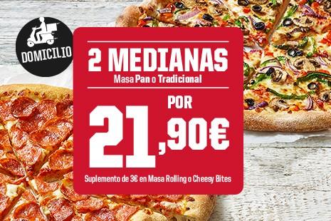 2 Medianas x 21.90€  (6-ingr.)
