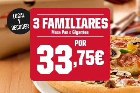 3 Familiares Pan o Gigantes x 33.75 a Recoger (6-ingr.)