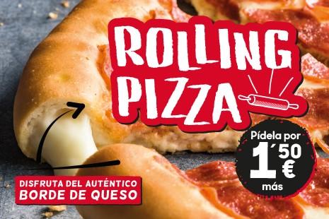 Masa Rolling Pizza Hut