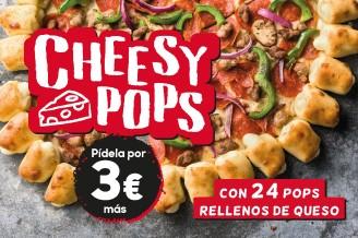 Masa Cheesy Pops Pizza Hut