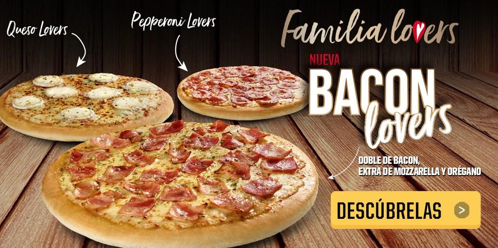 Familia lovers de Pizza Hut