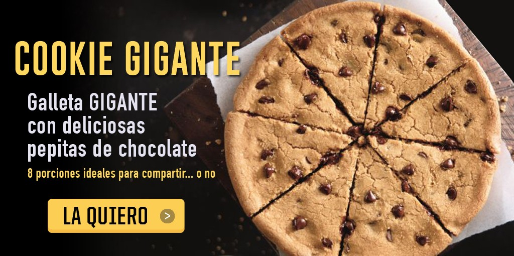 Cookie Gigante Pizza Hut