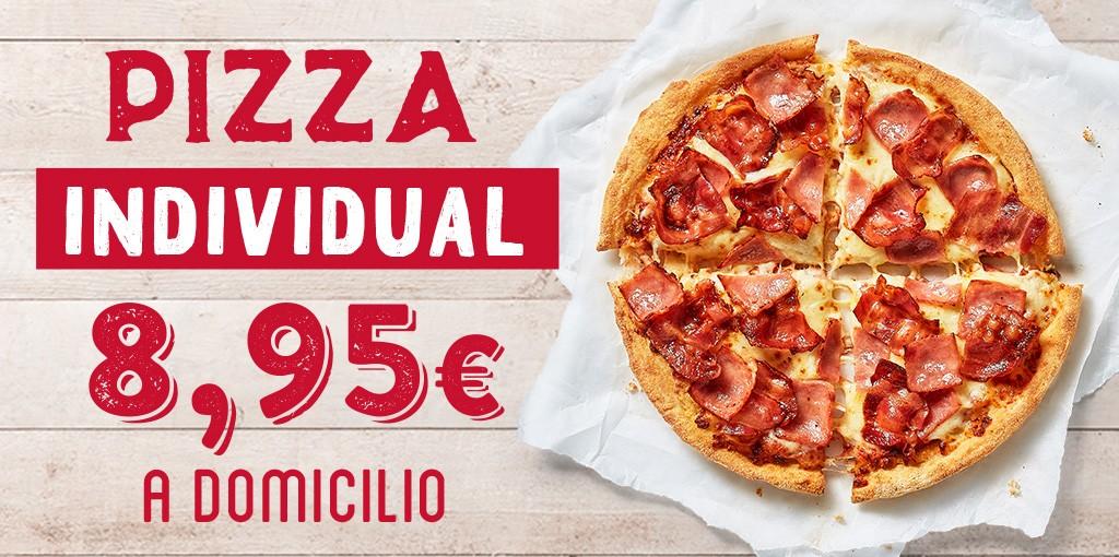 Pizza Individual a Domicilio