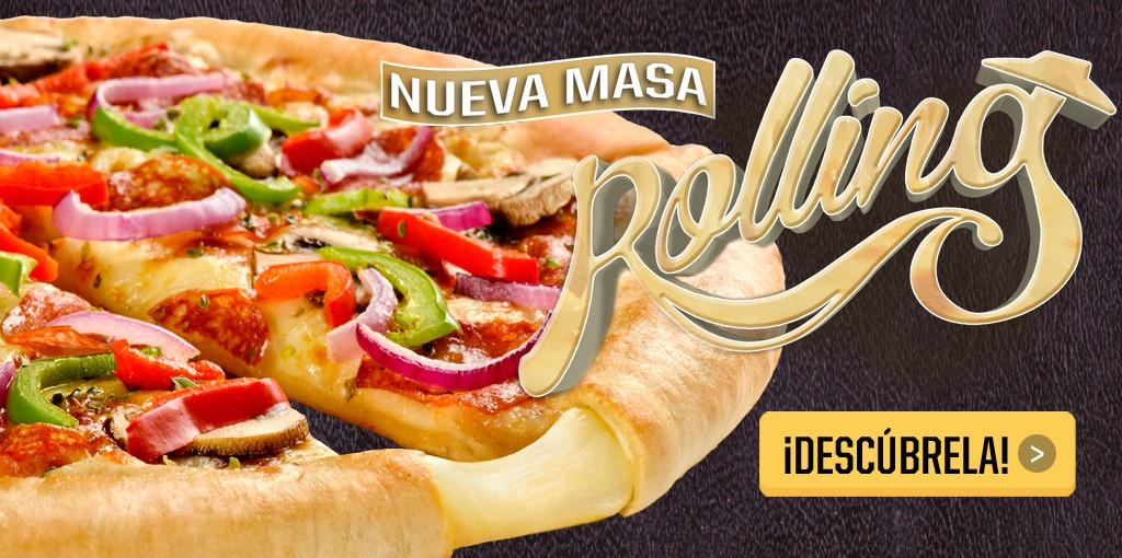 Rolling de Pizza Hut