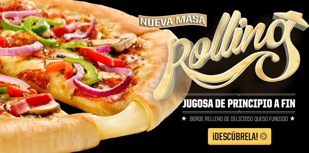 Masa Rolling de Pizza Hut